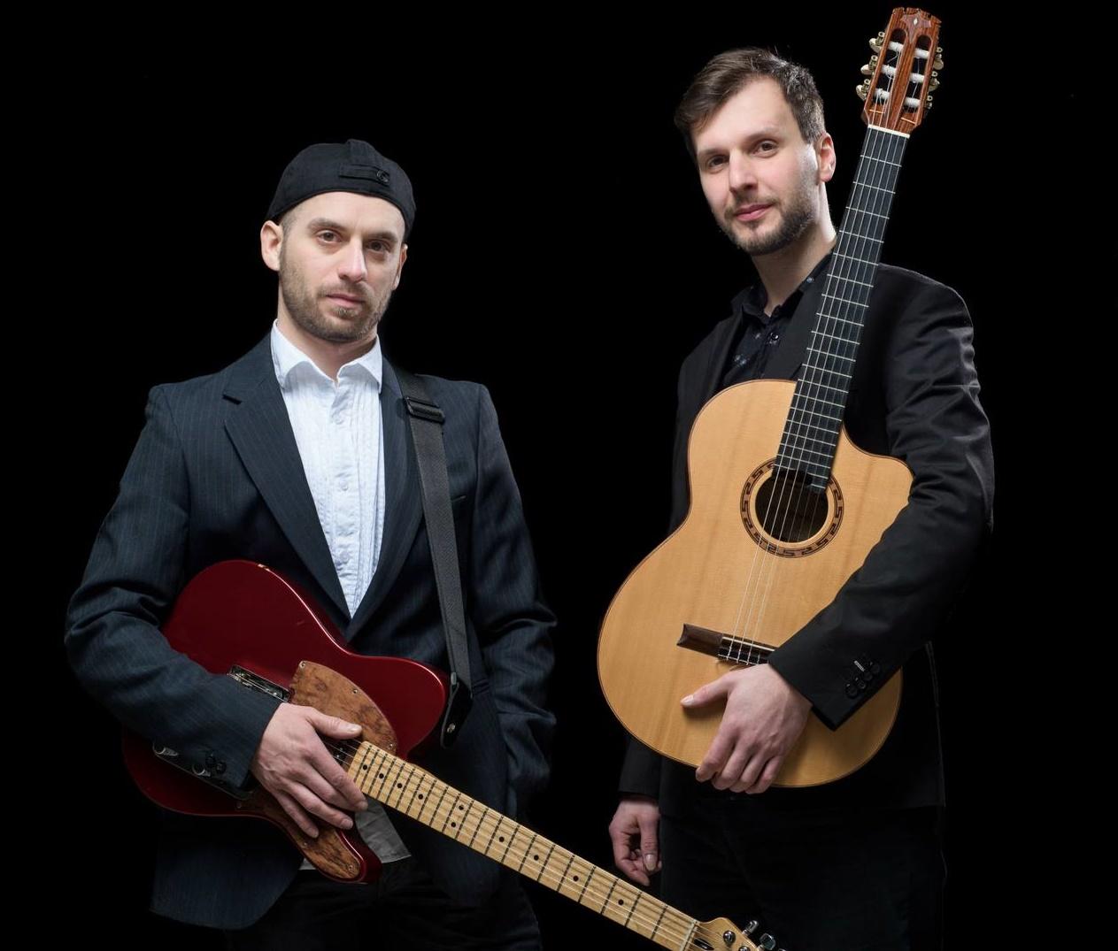 Kytarové duo Rudy Horvat  &  Radim Přidal v pátek 18.8.2017 od 19:30hod.
