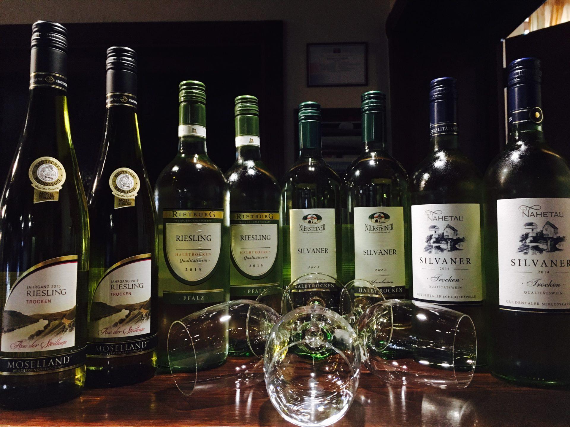 Vína z oblasti Rýna a Mosellu