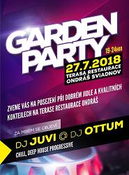 Garden párty 27.7.2018